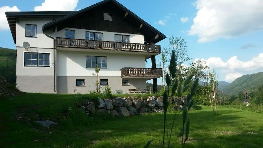 Haus Eisenstraße - Apartment Töpper - Lunz am See