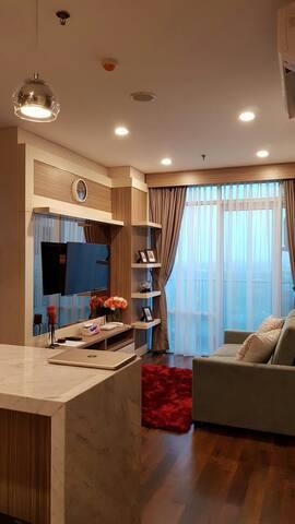 Cozy homeliving Brookly Apartement. Alam Sutera