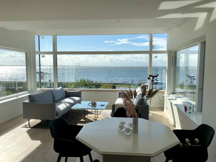 Villa by the sea overlooking Öresund