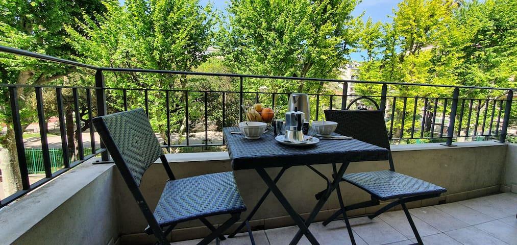 💐Charmant studio climatisé Nice Acropolis - Port