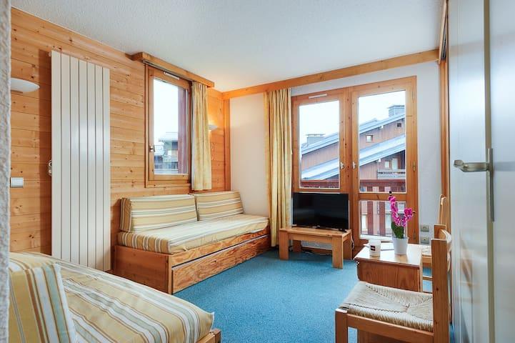 Bel appartement au pied des pistes de Mottaret - Les Allues - Apartmen