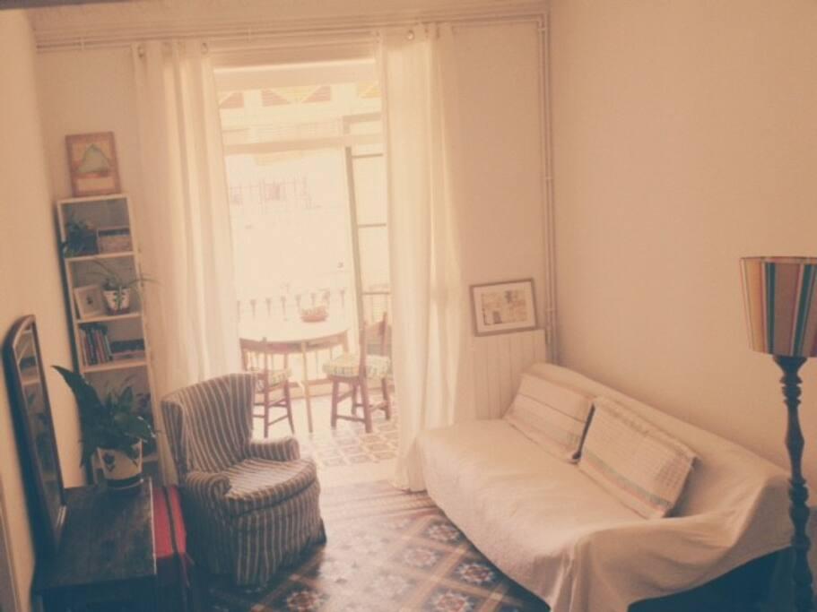 Privat livingroom/salon privado/privates Wohnzimmer