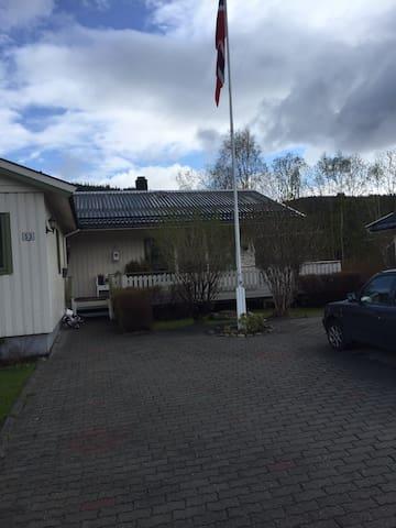 Overnatting midt i Norge.