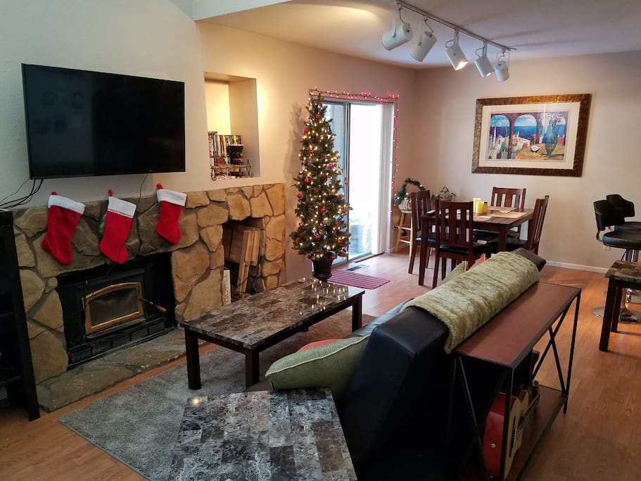 Guests have access to entire house including kitchen, dining, living room, laundry and private patio.