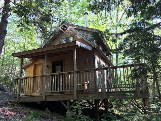 woodland retreat cabin