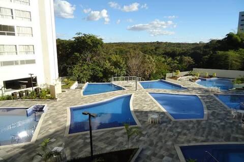 Apto/flat Rio Quente - Park Veredas 402