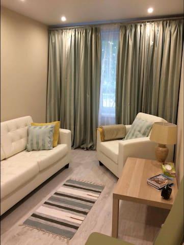 Уютная Двухкомнатная  квартира в центре - Moskva - Flat