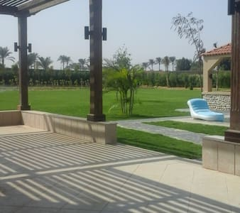 Private villa at a gated community