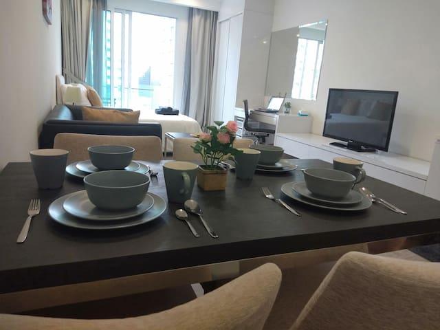Chen' k12 Cozy Suite 500m MRT Bukit Bintang, KLCC