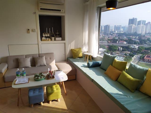 Cosy Home 5 mins KLCC / Pavilion / Bukit Bintang