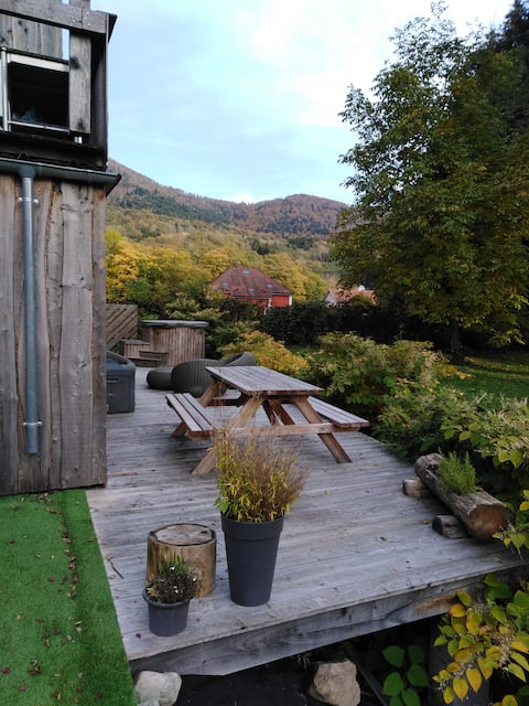 Gite Nature - Optional private relaxation area