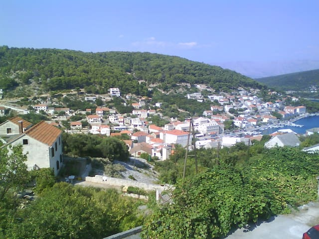 STUNNING view apartment+2 terraces, stone house!