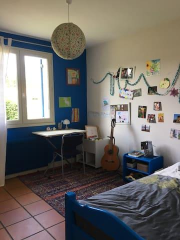 Chambre 2  (lit simple)90
