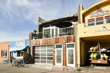 Condo is on second story and 1 car garage is available, street parking is also available