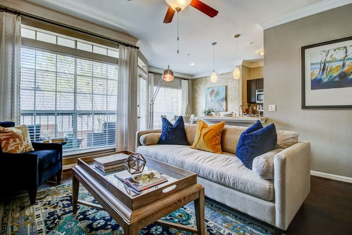 Professionally maintained apt   1BR in Houston