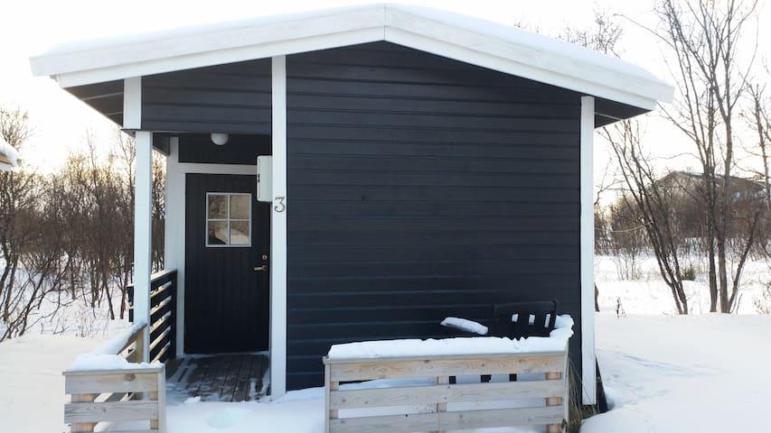 Vestre Jakobselv Camping Hytte nr 3