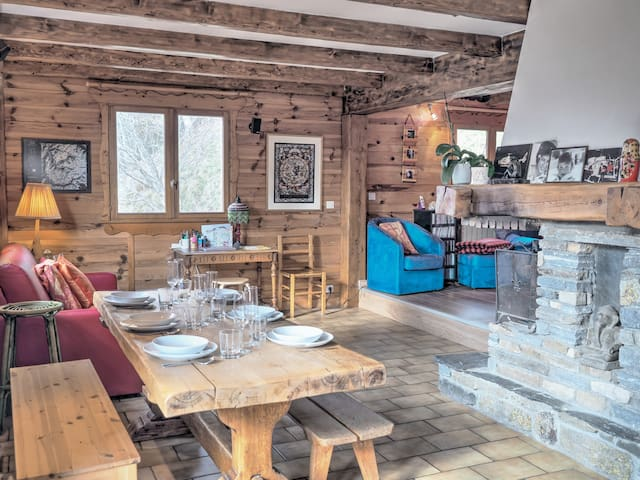 Wonderful chalet with panoramic views for up to 8p