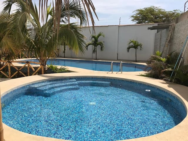 Private Apartment with Pool near Mancora Beach