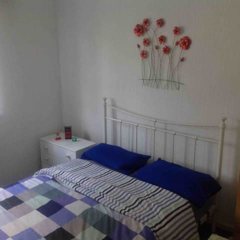 Brigth double room in a quiet residential area
