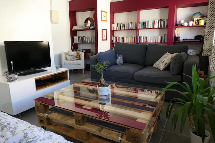 Appartement au coeur de Marseille (parking inclus)