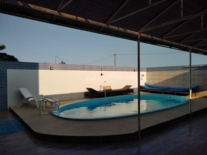 Aluguel de casa de praia  temporário Prado Bahia