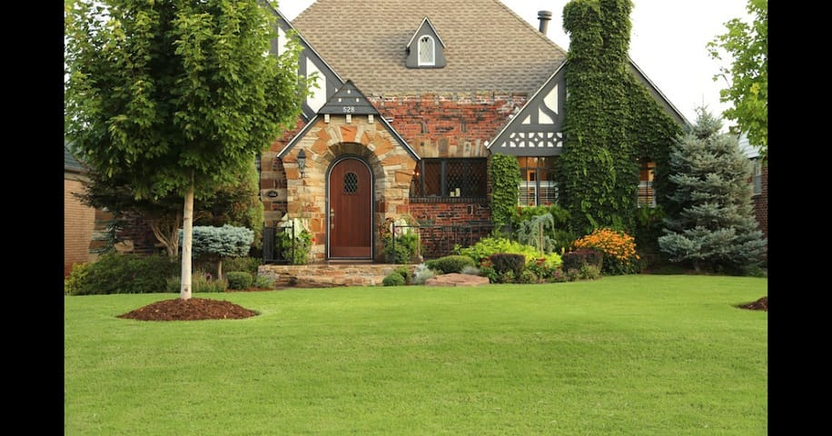Prestigious Crown Heights Cottage - Oklahoma City - House