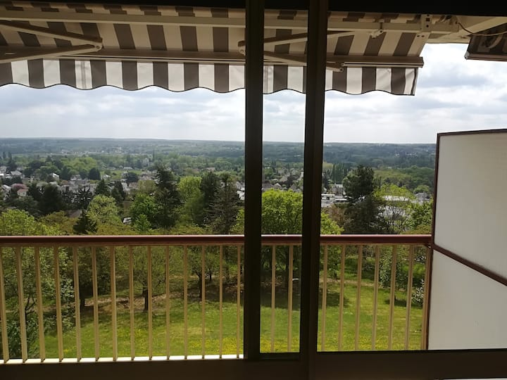 Studio avec vue dégagée près du Zoo et Châteaux