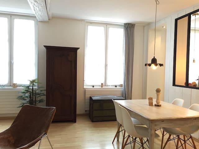 F3 de charme, rouen hyper centre - Rouen - Condominium