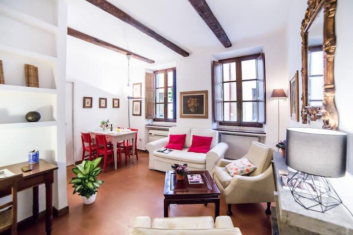 A True Roman House in the heart of Trastevere!!