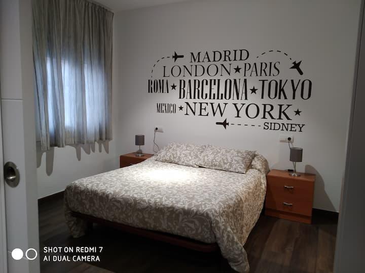 Apartamento privado en Terrassa, Barcelona.