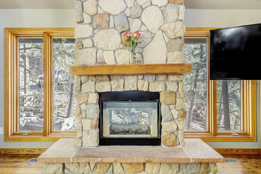 Family Room Fireplace