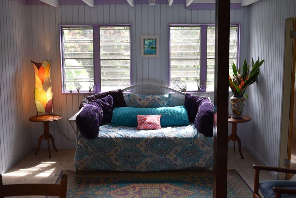 Cozy comfortable living room,