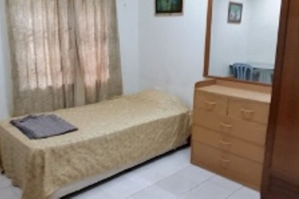 Single Room with bathroom attached