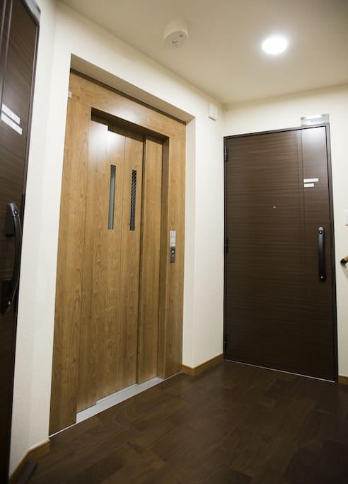 Bed&Stay - Spacious hallway between floors
