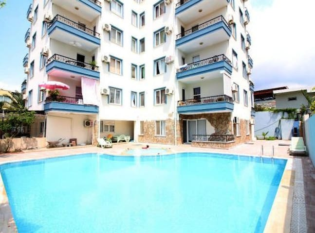 1+1 apartment close by the sea, Oba & Alanyum!