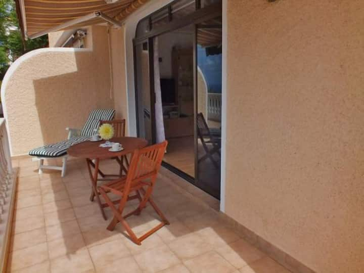 Holiday apartment with ocean and Teide view in very quiet location - 105