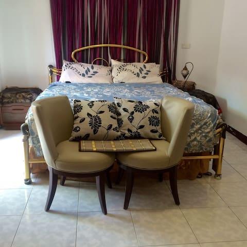 有專屬陽台的舒適休閒住宿空間