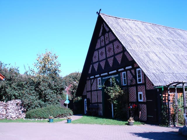 Idyllische Unterkunft im historischen Bauernhaus