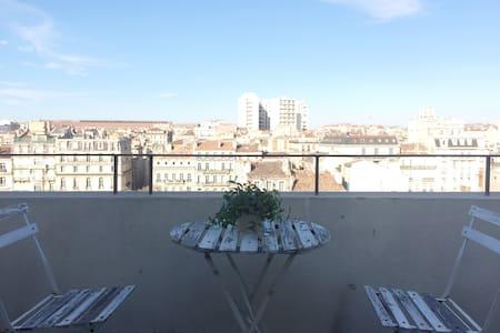 Beau studio avec terrasse au centre de Marseille - มาร์เซย์