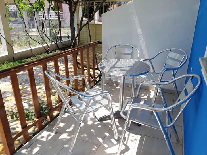Apartment with one bedroom in Shkodër, with enclosed garden and WiFi - 400 m from the beach