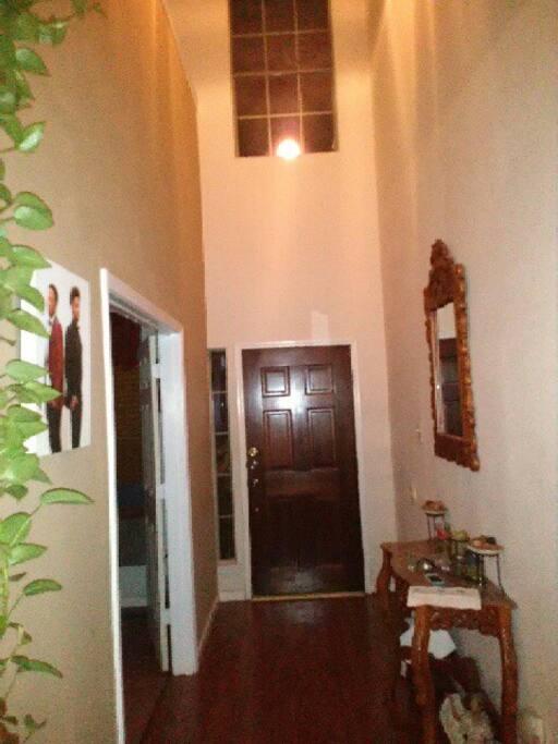Front door foyer area