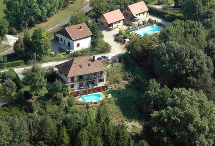 appartement près du lac de chalain - Marigny - 公寓