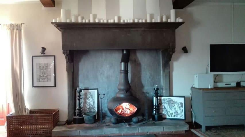 Casa panoramica in antico borgo medievale - Pescia - Rumah