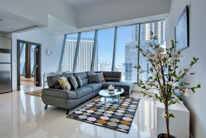 SIlverene ultra-Luxury 1 bed Next to marina mall