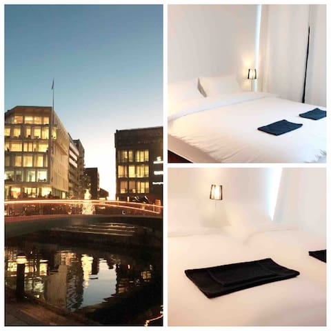 Wow=Best Location Oslo City Center Private Room!