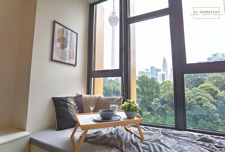 【HOT】Artist Studio with SMART TV | KL Tower View