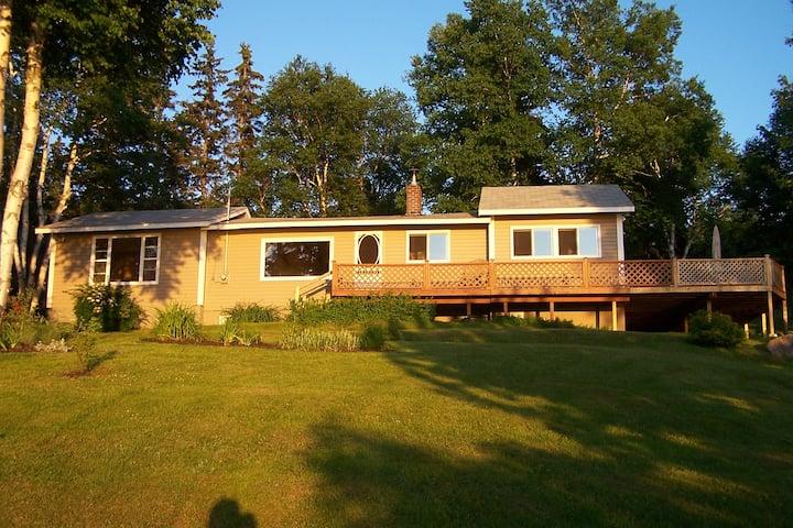 Cottage near Grand Narrows,  Cape Breton Island