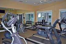 Fitness center for guest use!
