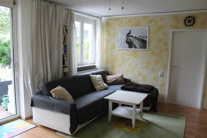 APARTMENT - IN CITY! WITH A BIG GARDEN!
