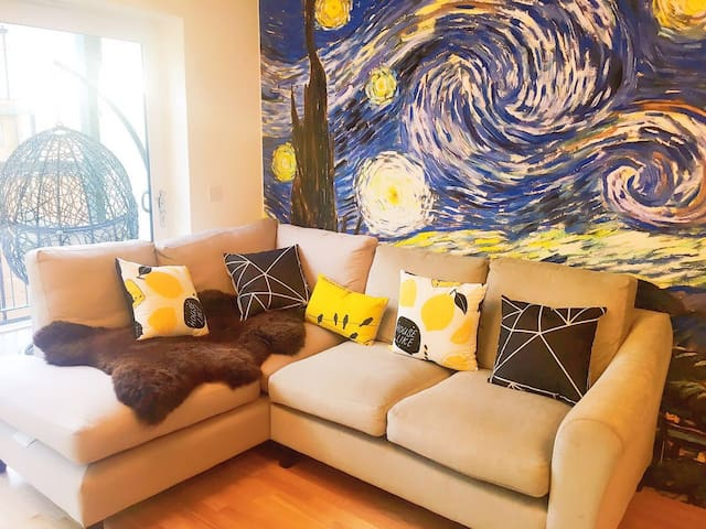 Cozy duplex, walk to Train Station and University - 剑桥 - Pis